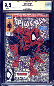 Spider-Man #1 - CGC 9.4 - Signed by McFarlane
