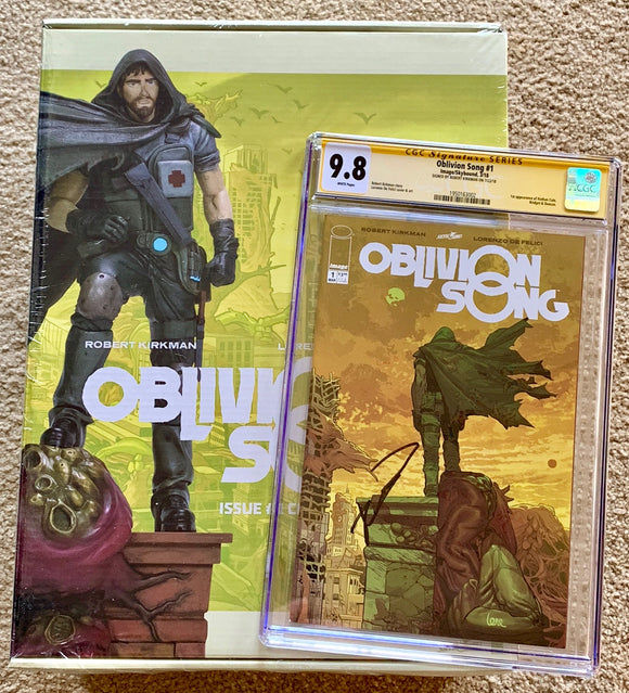 Oblivion Song #1 - Ultimate Collectors Package - CGC SS 9.8 - Signed