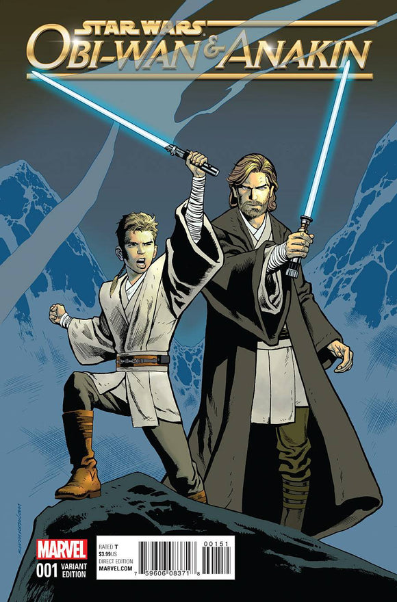 OBI-WAN AND ANAKIN #1 (OF 5) NOWLAN CLASSIC VAR
