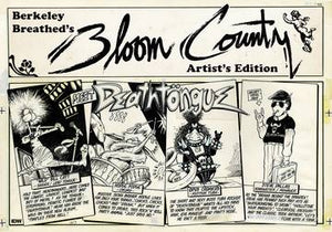 BERKELEY BREATHED BLOOM COUNTY ARTIST ED HC (C: 0-1-2)