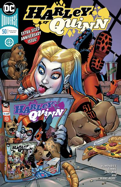 HARLEY QUINN #50 (NOTE PRICE)