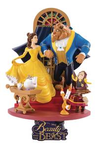 BEAUTY & THE BEAST DS-011 DREAM-SELECT SER PX 6IN STATUE (C:
