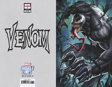 VENOM #7 YOON LEE MARVEL BATTLE LINES VAR