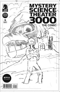 MYSTERY SCIENCE THEATER 3000 #3 CVR B VANCE