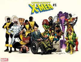 UNCANNY X-MEN #1 COCKRUM HIDDEN GEM VAR