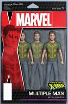 UNCANNY X-MEN #2 CHRISTOPHER ACTION FIGURE VAR