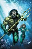 AQUAMAN JUSTICE LEAGUE DROWNED EARTH #1 VAR ED