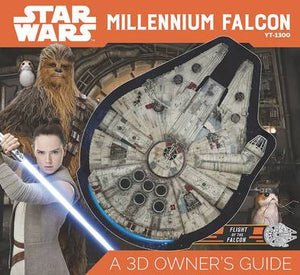 STAR WARS MILLENNIUM FALCON 3D OWNERS GUIDE (C: 1-1-0)