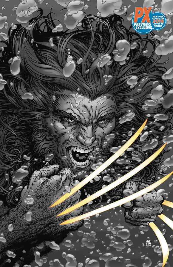 NYCC 2018 RETURN OF WOLVERINE #2 MCNIVEN VARIANT
