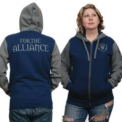 WOW BATTLE FOR AZEROTH ALLIANCE PRIDE HOODIE MED (C: 1-1-2)