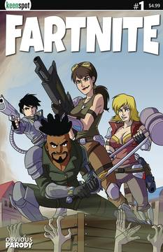 FARTNITE #1 CVR E BOX ART