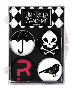 UMBRELLA ACADEMY 4 PACK MAGNET SET (C: 1-1-2)