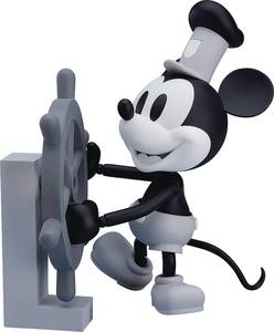 Steamboat Willie Mickey Mouse Af 1928 Black & White Ver (C: