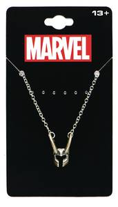 Thor Loki Helmet Necklace (C: 1-1-2)