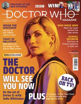Doctor Who Magazine #535 (C: 0-1-1)