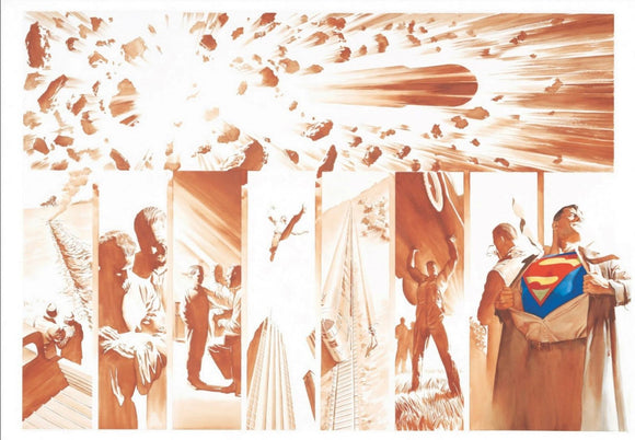 Alex Ross Lithograph