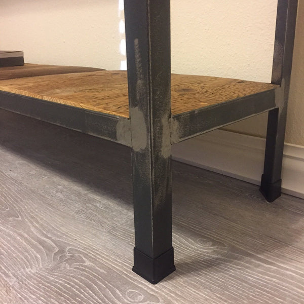Industrial Rustic Entry Table