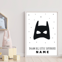 Nursery wall art batman
