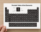 Periodic Table of Elements Cards in A5 size - Pack of 2 cards
