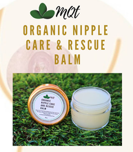 Load image into Gallery viewer, MQT Organic Nipple Care and Rescue Balm