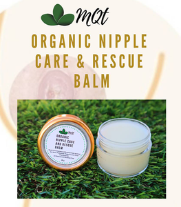 MQT Organic Nipple Care and Rescue Balm