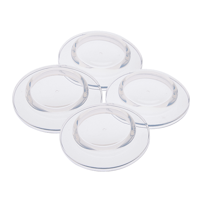 Dula Silicone Sealing Discs for Wide Neck Bottles 4pack