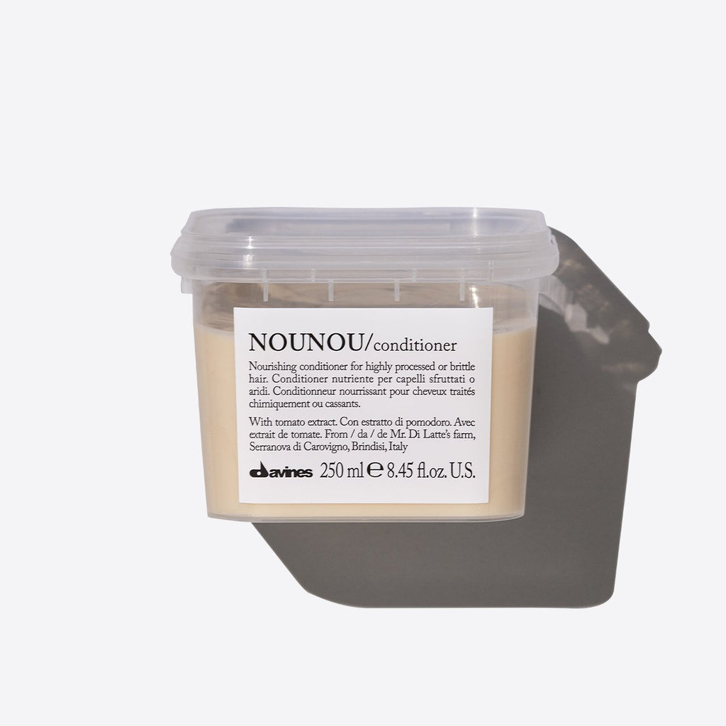 nounou conditioner for dry hair tub