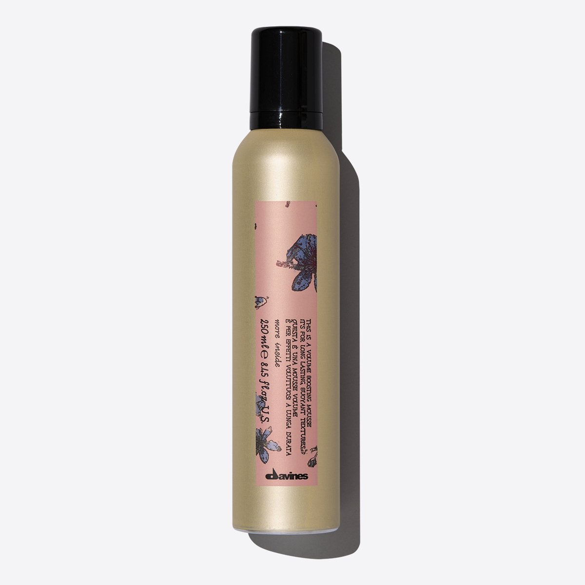 Este es un Mousse Voluminizador 1  250 ml / 8,45 fl.oz.Davines