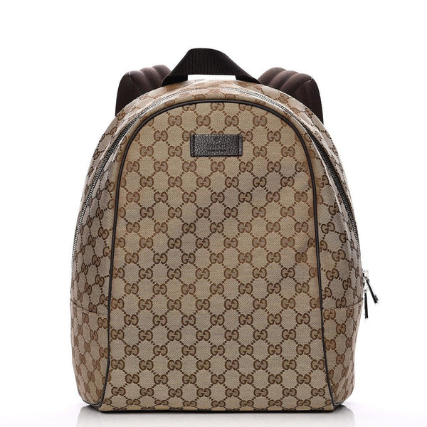 b215398ff ... Backpack bag by Gucci - Original GG Guccissima pattern (Beige/Brown) ...
