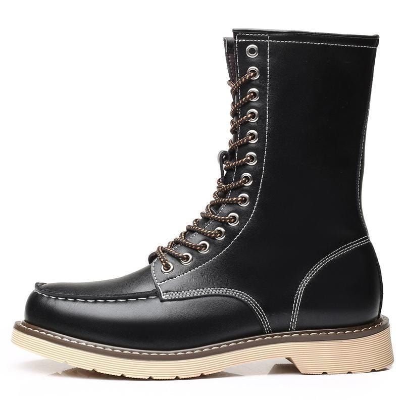 Men's Leather Martin Boots