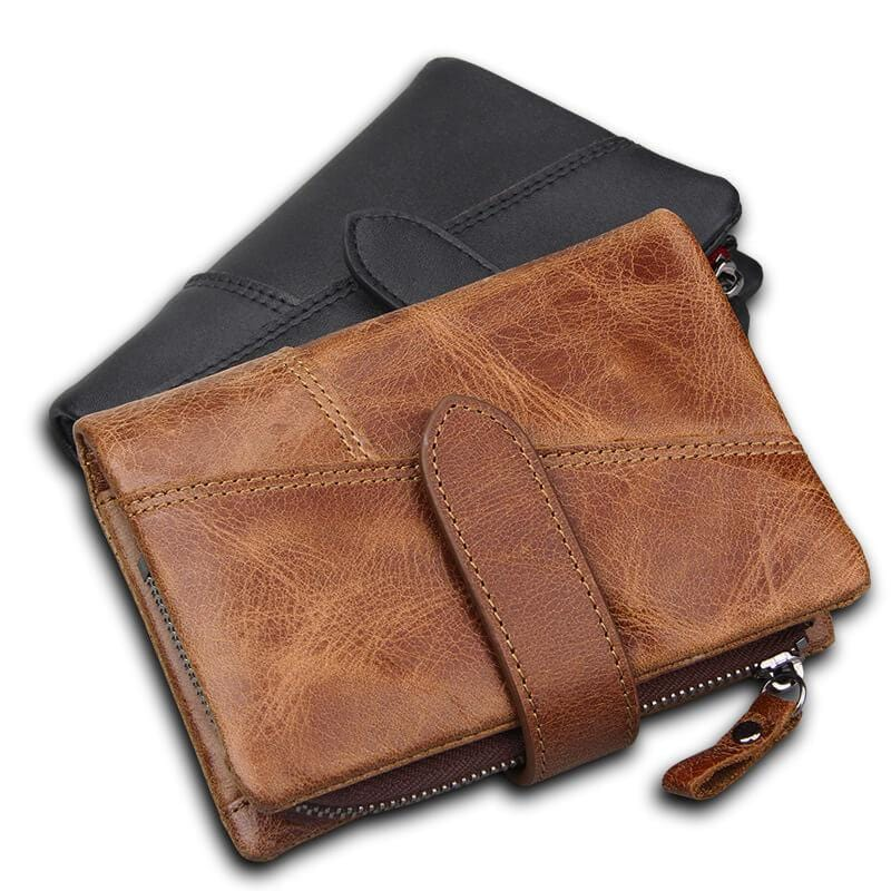 Crazy Horse Leather Wallet - mwsshoe