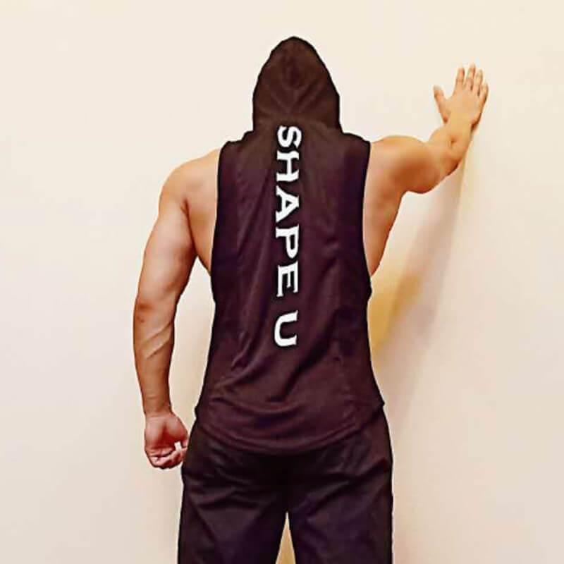 Men Quick Drying Hooded  Vest
