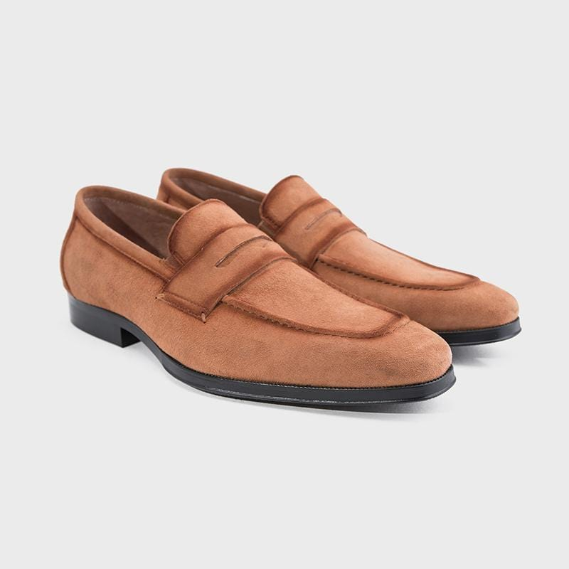 Men Suede Leather Loafers