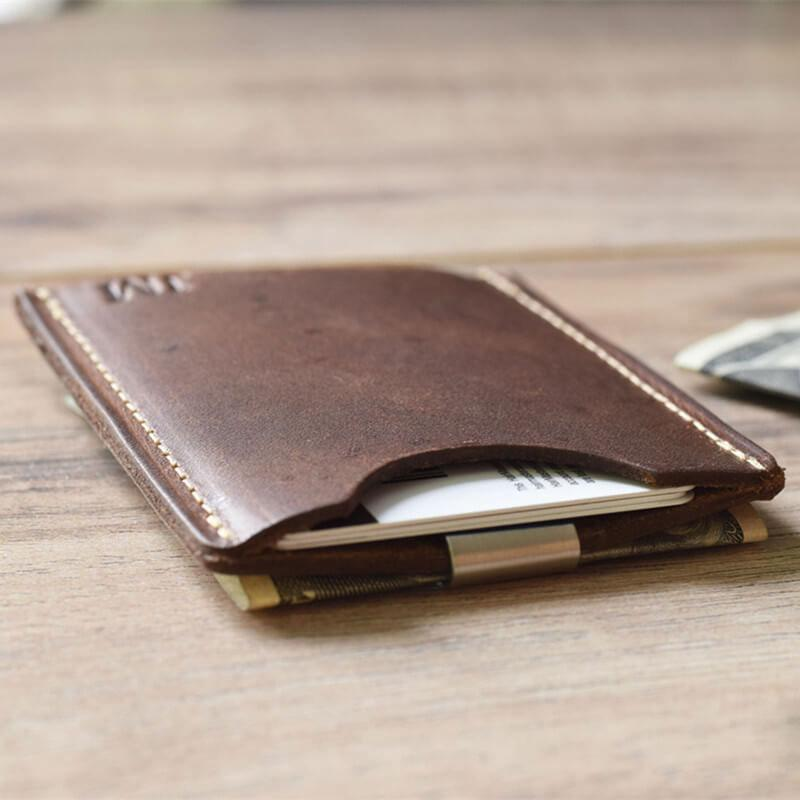 Leather Card Holder - mwsshoe