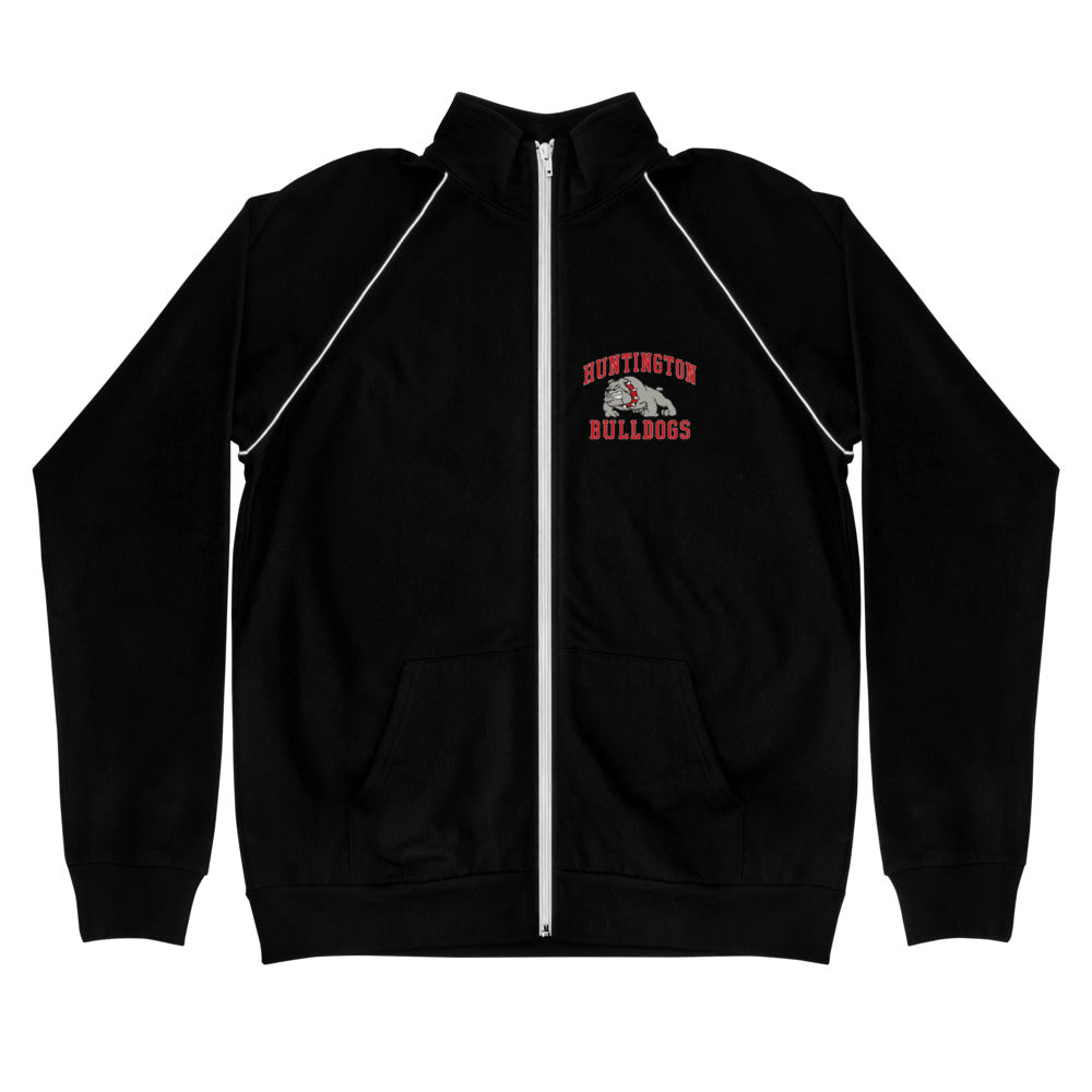 Huntington Bulldogs Piped Fleece Jacket