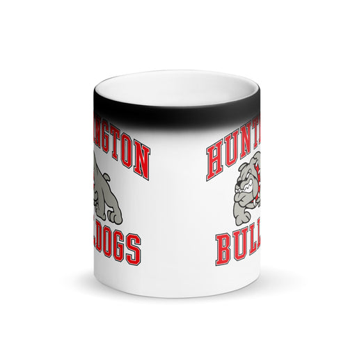 Huntington Bulldogs Matte Black Magic Mug