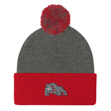 Load image into Gallery viewer, Bulldogs Pom-Pom Beanie