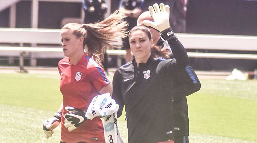 Alyssa Naeher – USA Women Soccer Team