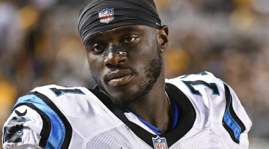 Once homeless, Panthers' Efe Obada wins NFC defensive player of week