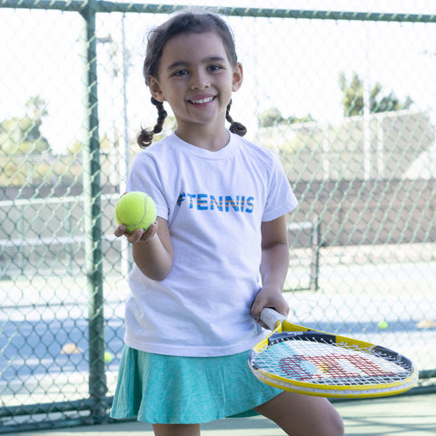 Heart=Tennis Kids Tee (2yrs-6yrs)