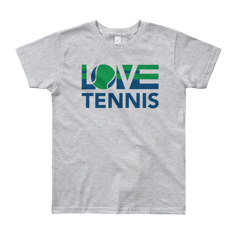 LOV=Tennis Youth Tee (8yrs-12yrs)