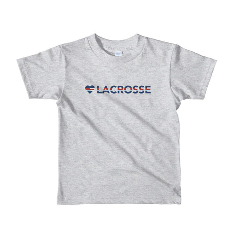 Heart=Lacrosse Kids Tee (2yrs-6yrs)