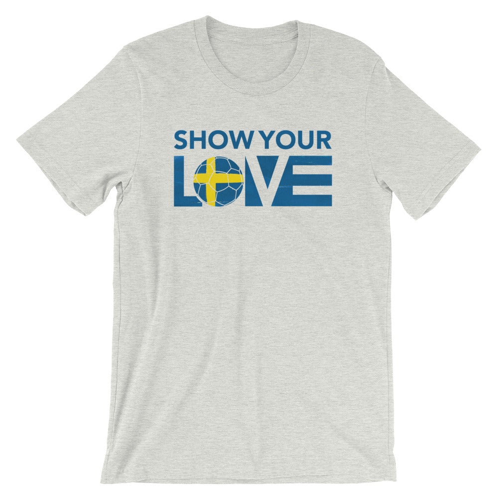 Ash Show Your Love Sweden Unisex Tee