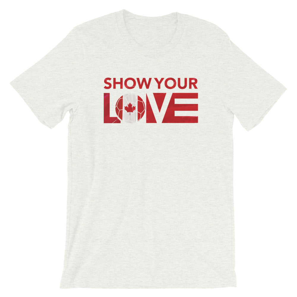 Ash Show Your Love Canada Unisex Tee
