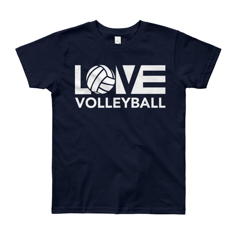 LOV=Volleyball Youth Tee (8yrs-12yrs)