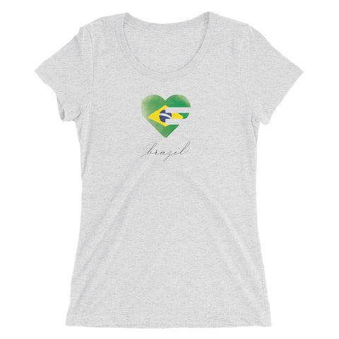Solo Heart Brazil Ultra Slim Fit Tee