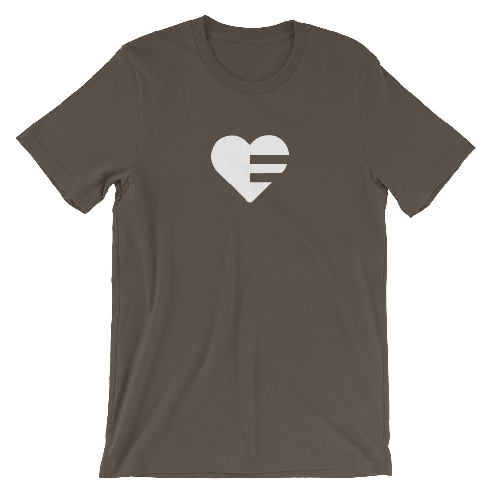 Army Solo Heart Unisex Tee