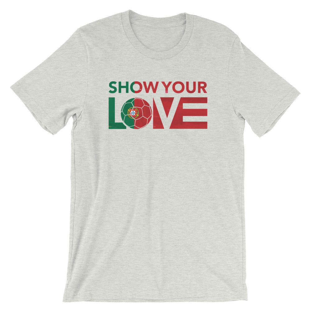 Show Your Love Portugal Unisex Tee