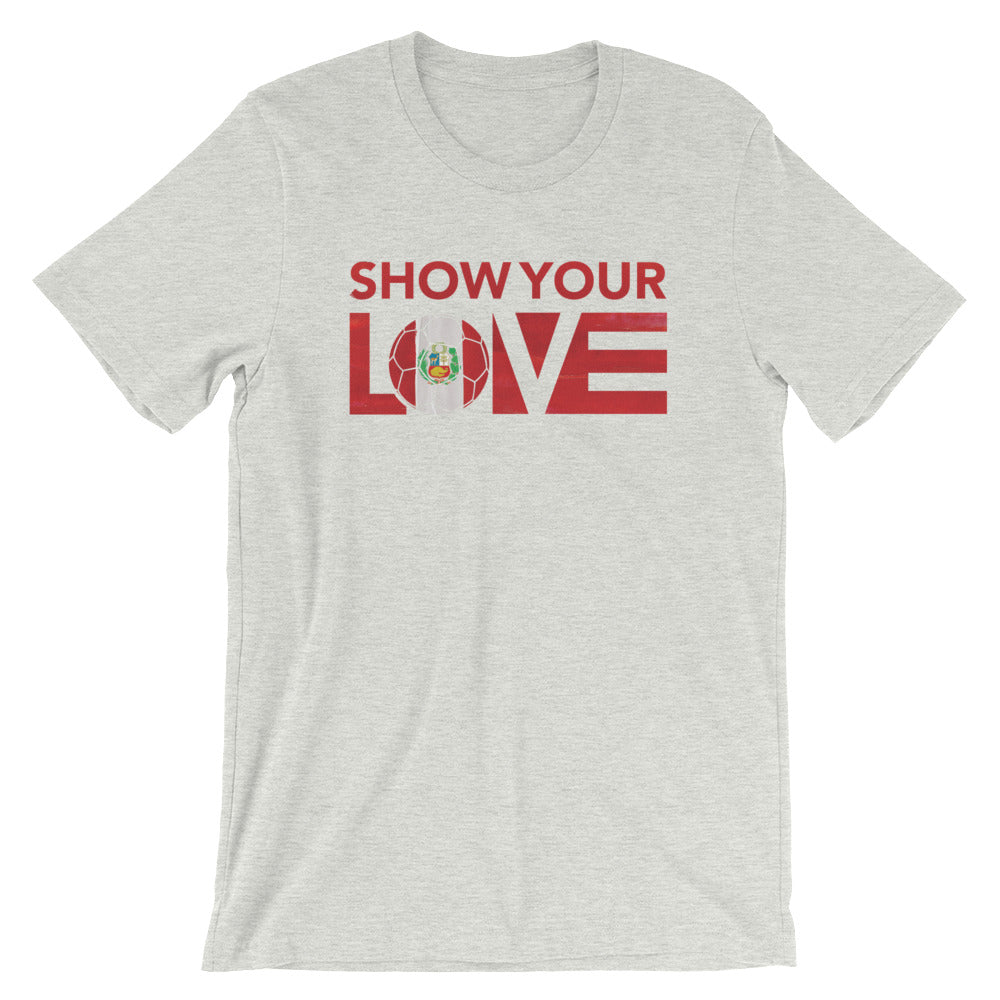 Ash Show Your Love Peru Unisex Tee