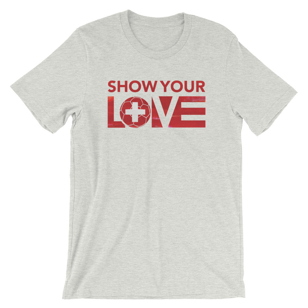 Ash Show Your Love Switzerland Unisex Tee